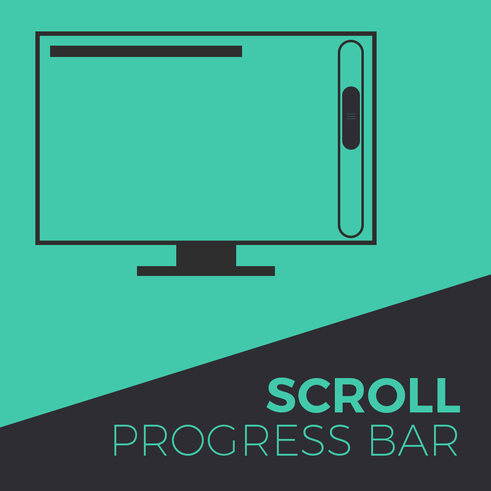 Scroll Progress Bar Adobe muse Widget