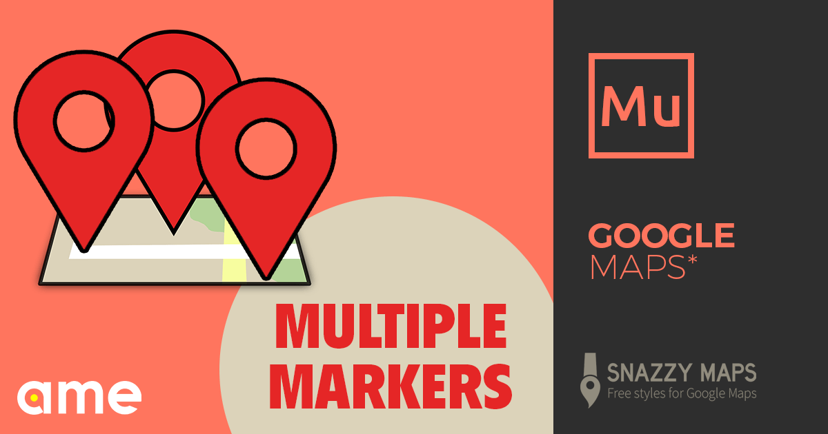 Google Maps Widget (Multiple Markers + Snazzy Maps) - Free